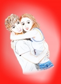 拥抱的情侣