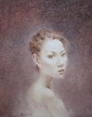 丽莎肖像 55000元 布面油