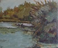 初之河 -布面油画   -1980