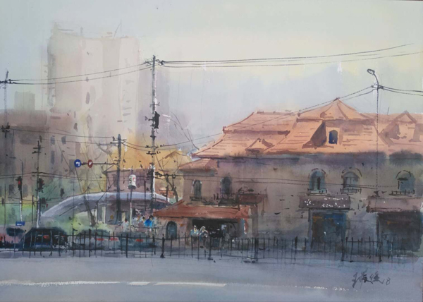 徐汇区的老房子真的是画之不尽,3月24日,华山路上,我们又择几处